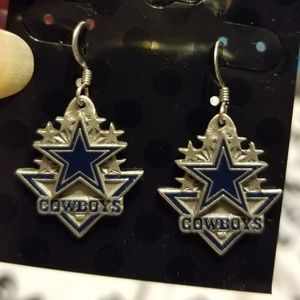 Jewelry - Dallas Cowboys Dangle Earrings